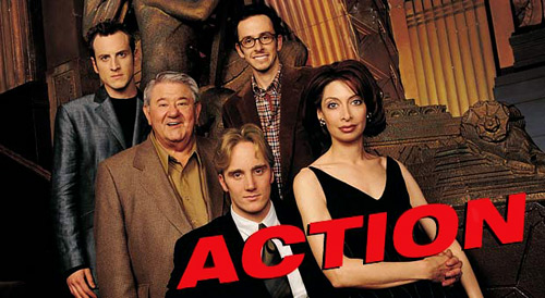 ACTION title with cast